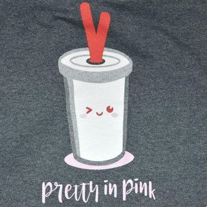 Pretty in Pink T shirt Large Womens Novelty print